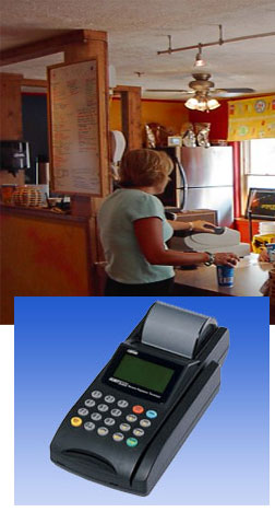 Credit card processing terminal with an eSells.com Merchant Account